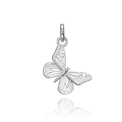 Kamama the Butterfly Charm, Silver
