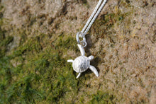 Kai the Sea Turtle Charm, Silver