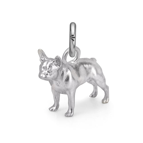 Rockie the Frenchie Charm, Silver