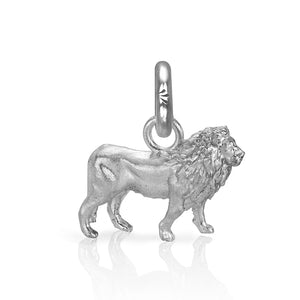 Cecil the Lion Charm, Silver