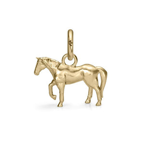 Chico the Horse Charm, Yellow Gold