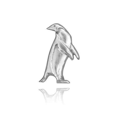 Panch the Penguin Charm, Silver