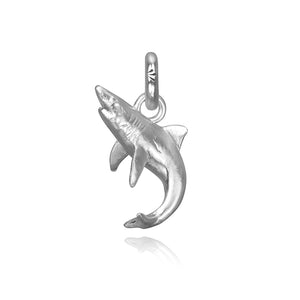 Bahamas the Shark Charm, Silver