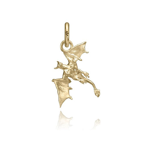 Vyeghal the Dragon Charm, Yellow Gold