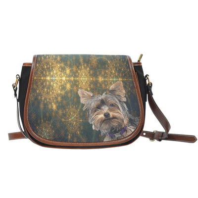 Venus Yorkie Saddle Bag Purse