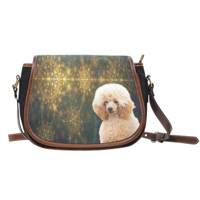 Venus Poodle Saddle Bag Purse