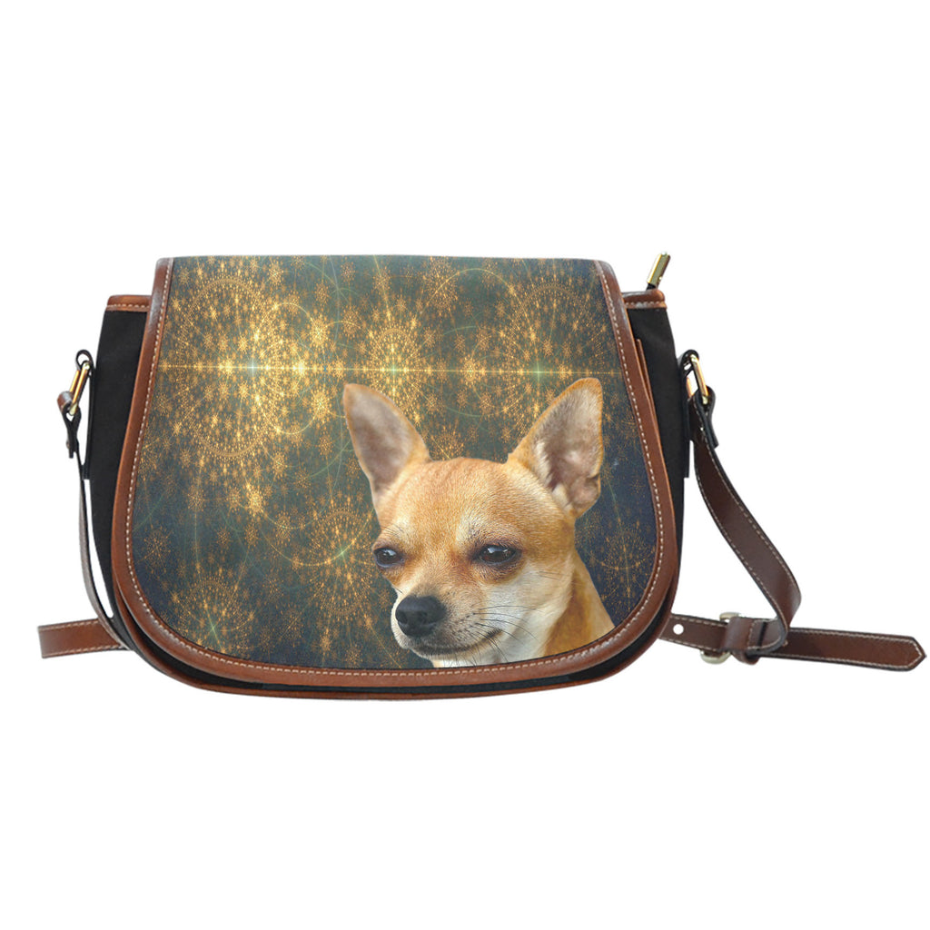Venus Chihuahua Saddle Bag Purse