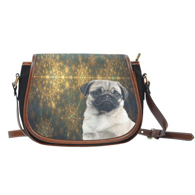 Venus Pug Saddle Bag Purse