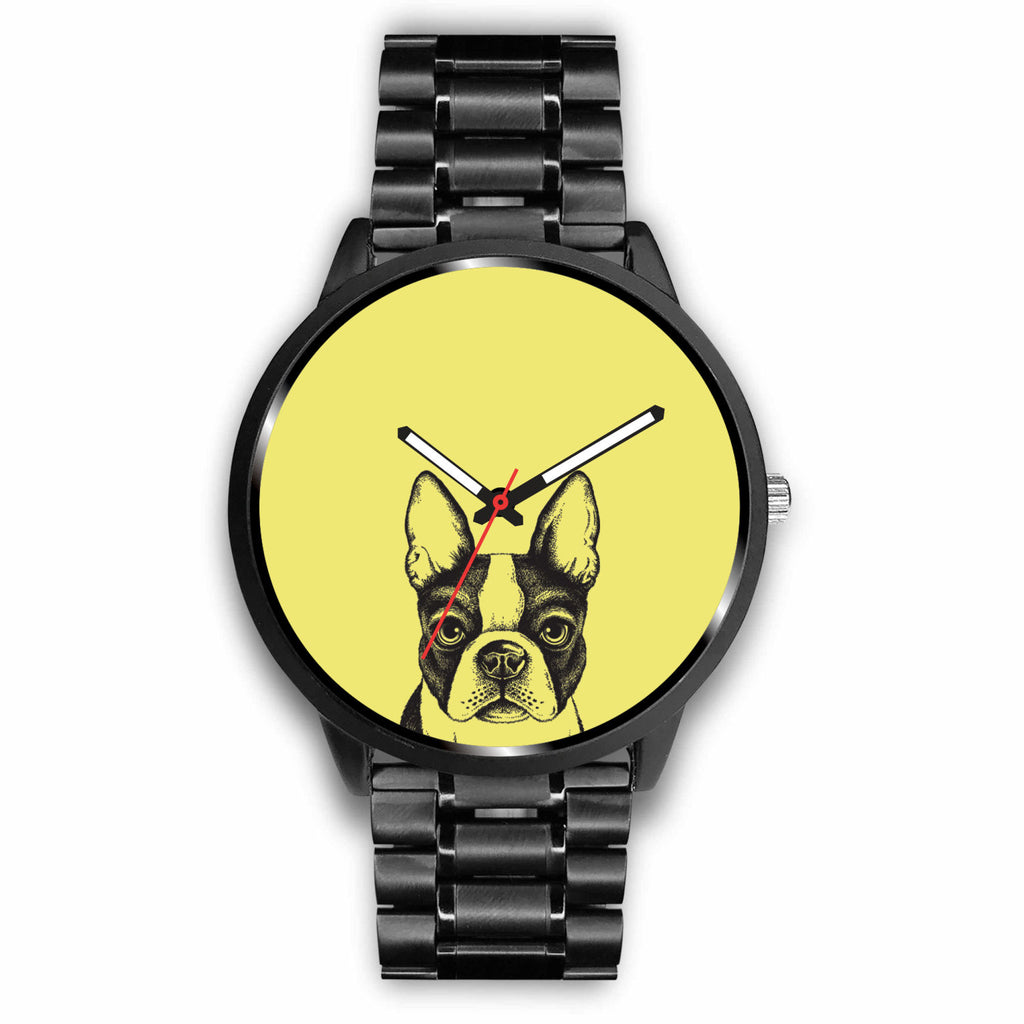 Custom - Boston Terrier Designer Watch