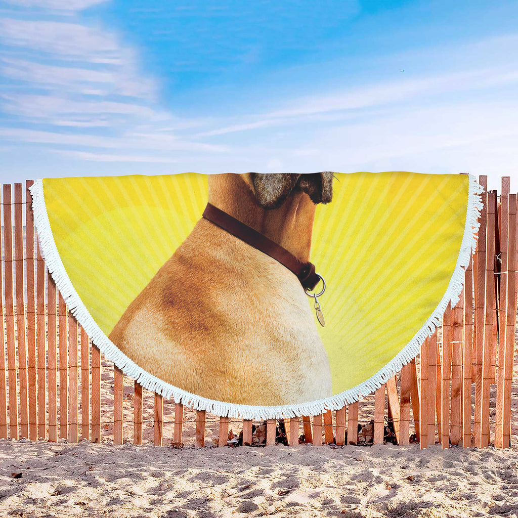 The Great Dane of Beach Blankets