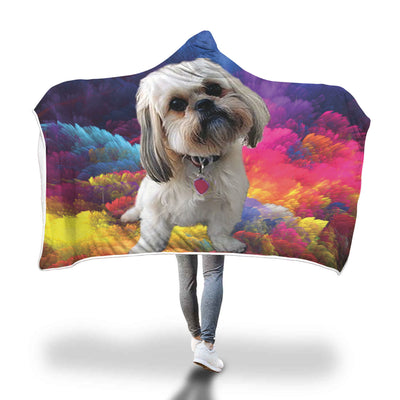 The Shih Tzu Hooded Blanket
