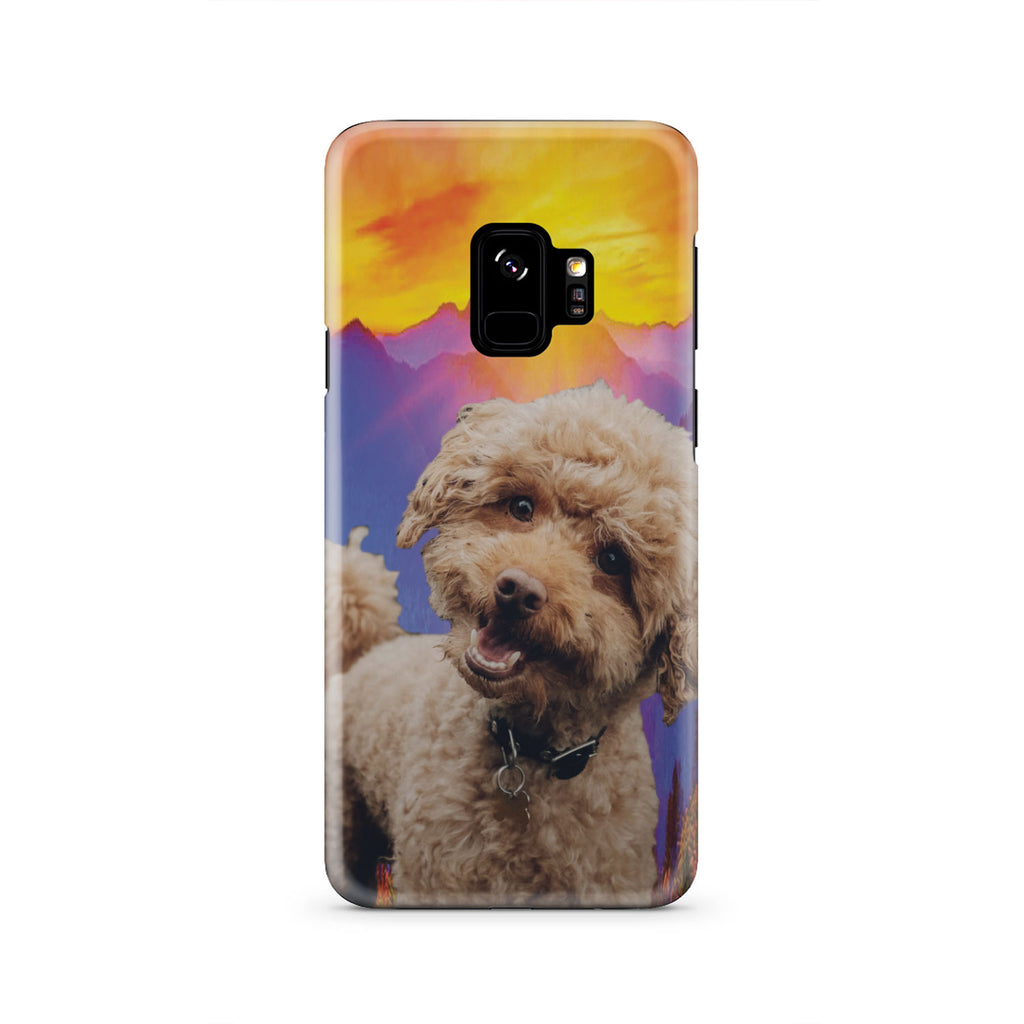 Sunshine Poodle Deluxe Phone Case