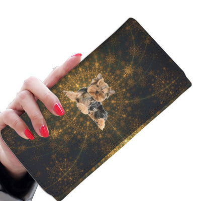 Venus Yorkie Womens Wallet Clutch Purse