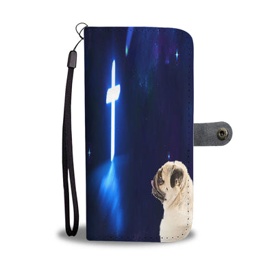 Pug Faith Wallet Case