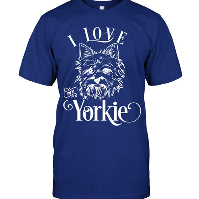 Apparel - I Love My Yorkie