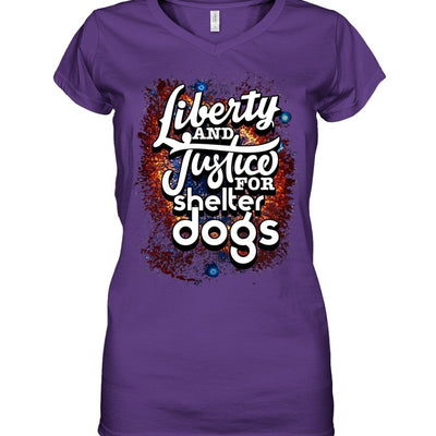 Apparel - Liberty And Justice For Shelter Dogs