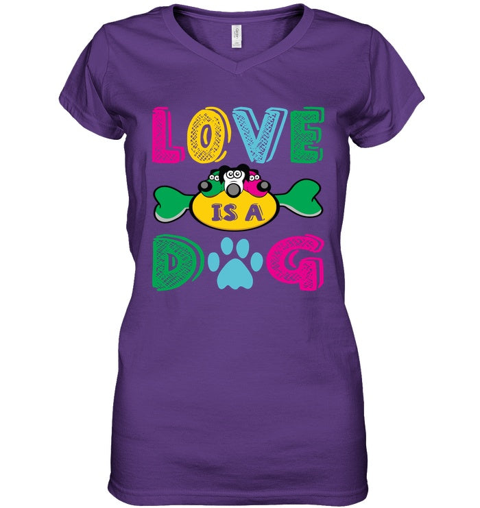 Apparel - Love Is A Dog