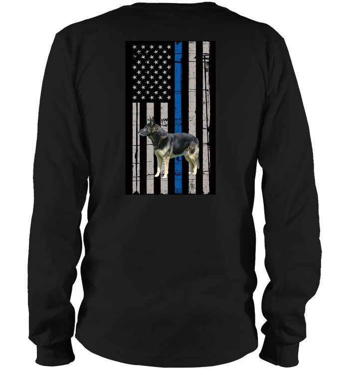 Apparel - Thin Blue Line-K9