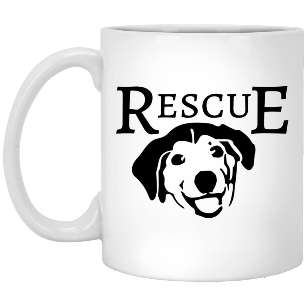 Drinkware - Dog Rescue Custom Ceramic Coffee Mug