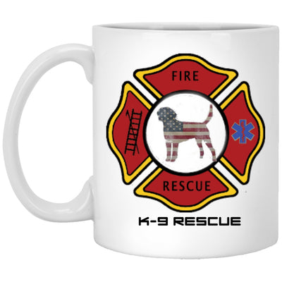 Drinkware - Firefighter K-9 Rescue - Custom Ceramic Coffee Mug