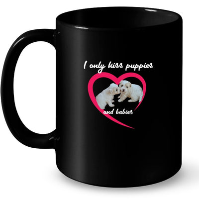 Drinkware - I Only Kiss Puppies Coffee Mug
