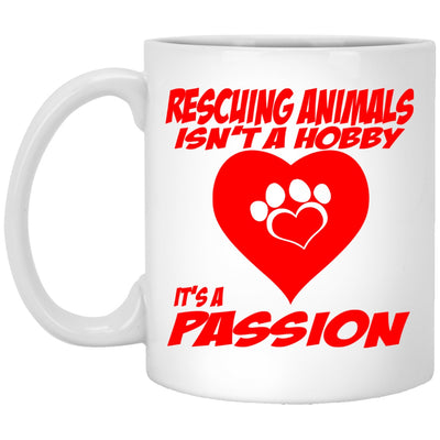 Drinkware - Rescuing Animals Isn't A Hobby