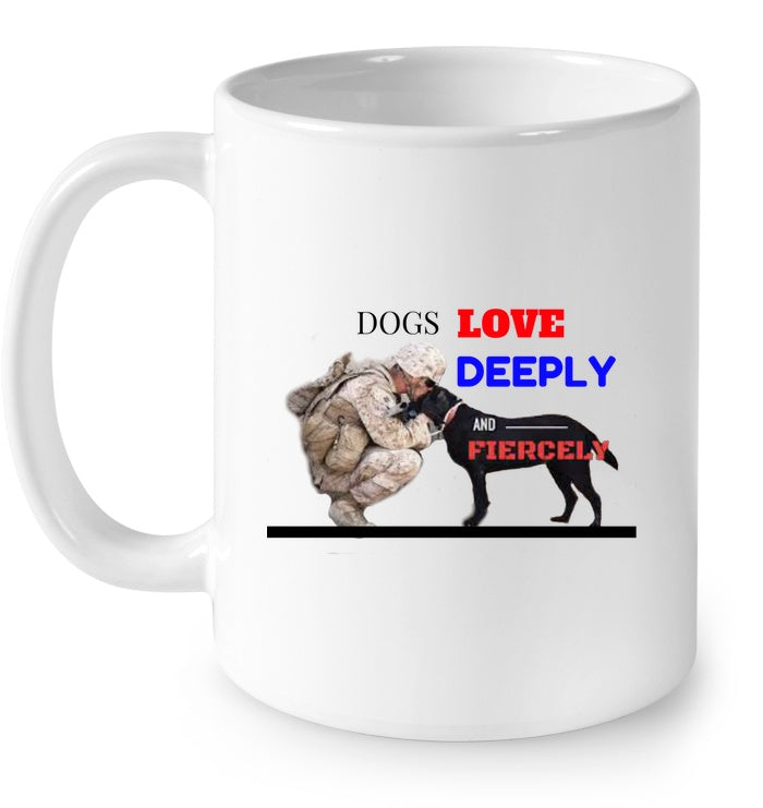 Drinkware - Salute To Service Dogs Mug