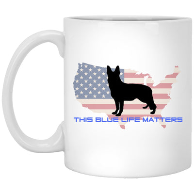 Drinkware - This Blue Life Matters - Custom Ceramic Coffee Mug