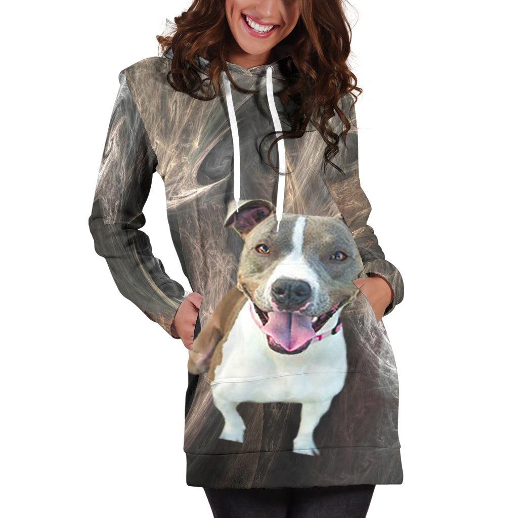 Pitbull Designer Hoodie Dress