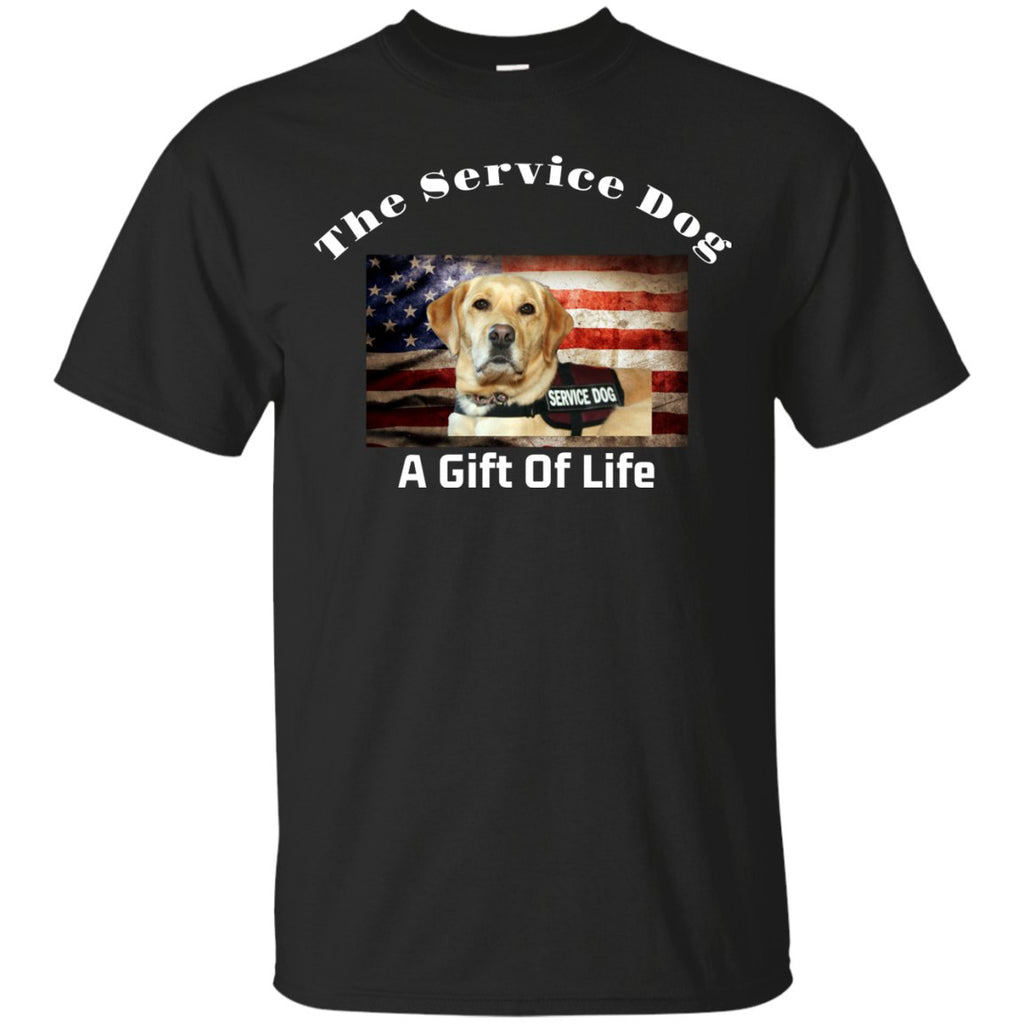 T-Shirts - The Service Dog, A Gift Of Life