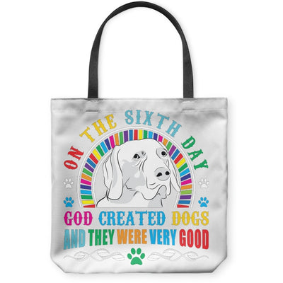 Tote Bags - On The Sixth Day - Custom Tote