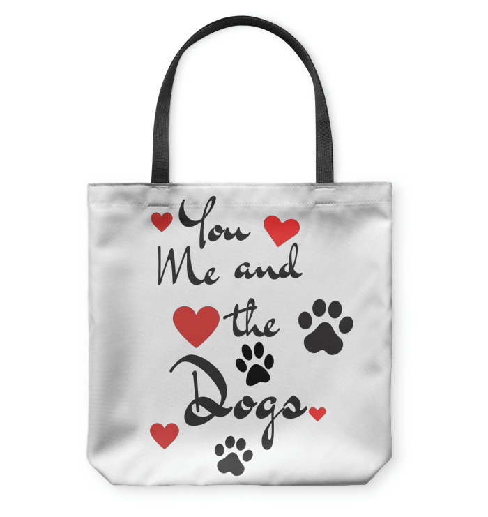 Tote Bags - You, Me And The Dogs - Tote Bag