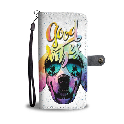 Wallet Case - Good Vibes Wallet Phone Case