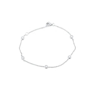 5 Solitaire Diamond Bracelet