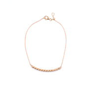Rose Gold Bar Bracelet