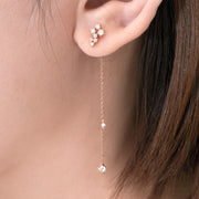 Two-Way Diamond Earrings