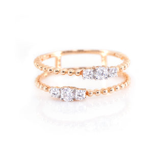 Two in One Diamond Ring