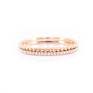 Two in One Eternity Ring