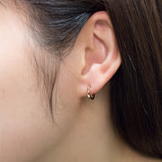 Lobe In Square Earrings