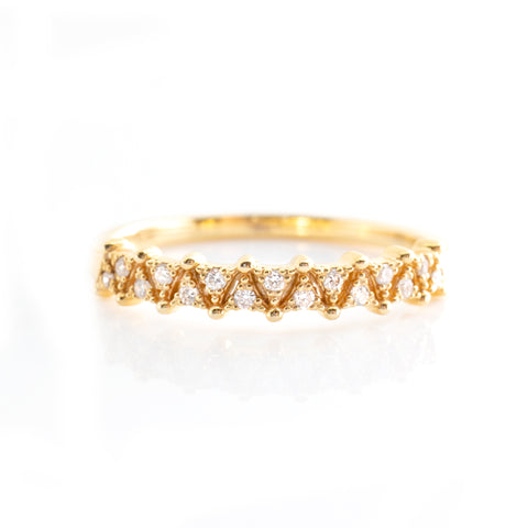Triangular Eternity Ring