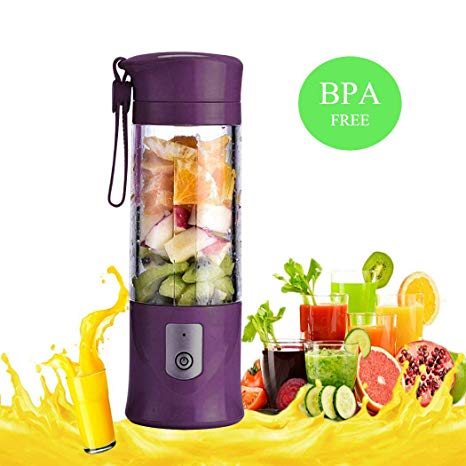 PORTABLE RECHARGEABLE USB BLENDER