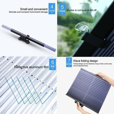 PREMIUM RETRACTABLE WINDSHIELD COVER / SUNSHADE
