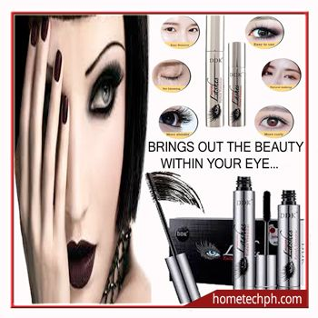 2pcs 4D Silk Waterproof  Eye Lash Fiber Mascara