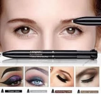 4 in 1 Retractable Brow Pen w/ Free Eyebrow Template