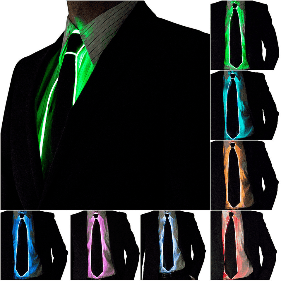 LED Light Up Tie