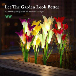 Lily Solar Lights - Beautify Your Garden