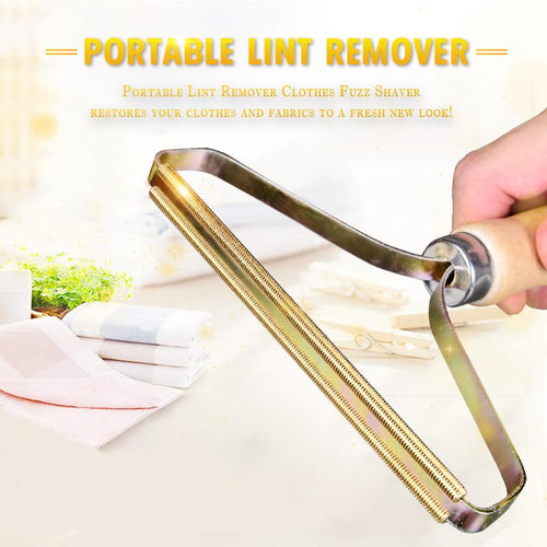 Portable Lint Remover