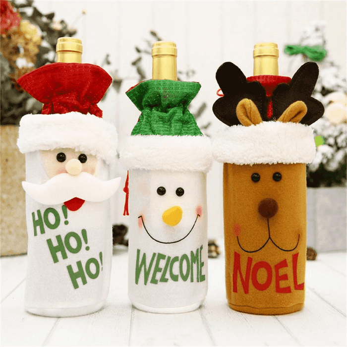 XMAS Bottle Cover