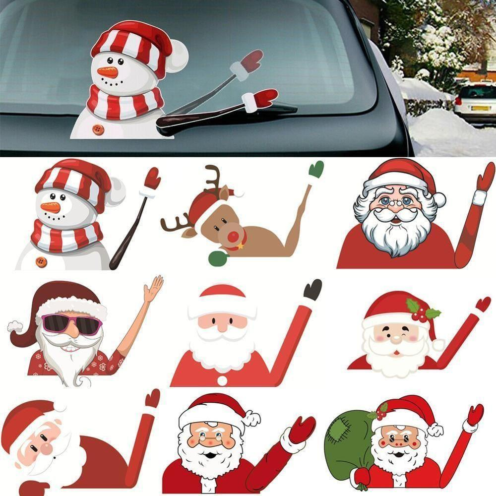 GoSwipe - Creative Christmas Car Sticker