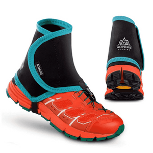 Low Trail Running Gaiters Protective Shoe Covers